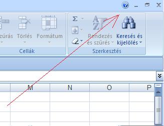 Excel 2007 súgó