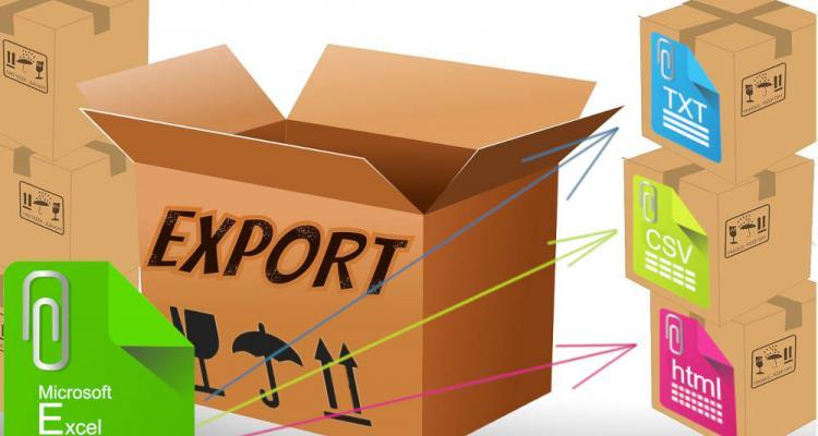 Exportálás Excelből txt-be, csv-be, html-be vagy más fájlformátumba