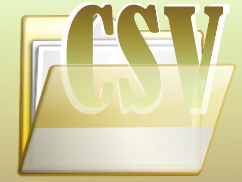 CSV fájl formátum