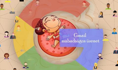 Gmail szabadságos üzenet beállítása