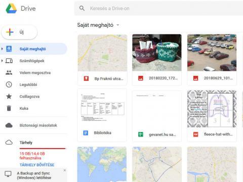 Google Drive használata
