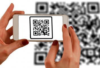 QR kód gevapc.hu url-l, fotó: Pixabay.com