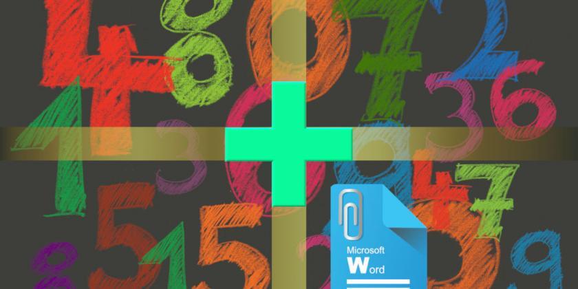 Számolás Wordben - számoló a szövegben, nem csak összeadás